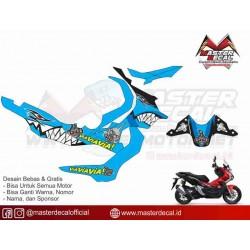 Stiker Motor Honda ADV...