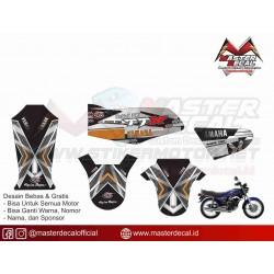 Stiker Yamaha Rx King Troy...