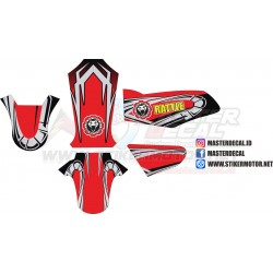 Stiker YAMAHA RX-KING Decal