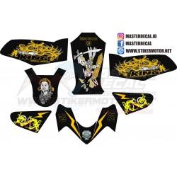 Stiker YAMAHA RX-KING Decal...