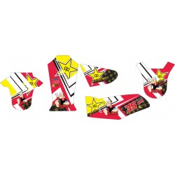 Stiker Yamaha Rx King...