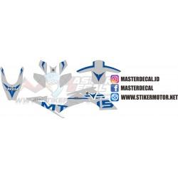 Stiker Yamaha Xabre  MT 15