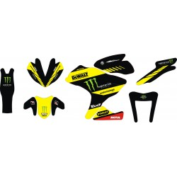 Stiker Yamaha R25 Monster...