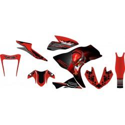 Stiker Yamaha R25 Evangelion