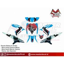 Stiker Yamaha Xeon Rc Samurai