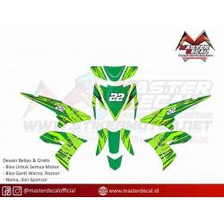 Stiker Yamaha XEON LAMA Grafis