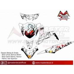 Stiker Yamaha XEON GT 125...
