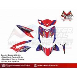 Stiker Motor Blade Click fb...