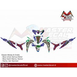 Stiker Motor New Blade JOKER2