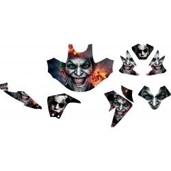 Stiker Motor NEW MEGAPRO Joker