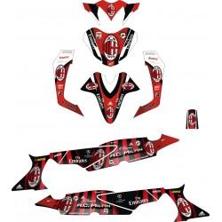 Stiker Motor Supra X 125 Milan