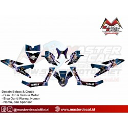 Stiker Yamaha New X-ride...