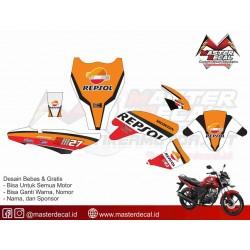 Stiker Motor Honda Verza...