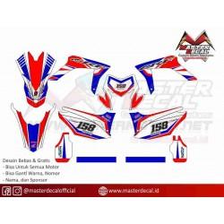 Stiker Motor Honda CRF 150...