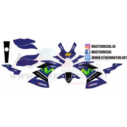Stiker Motor Yamaha All New...