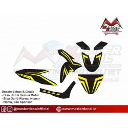 Stiker Motor Yamaha Freego...