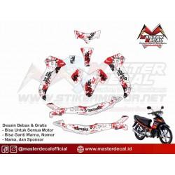 Stiker Motor Yamaha Jupiter...