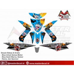 Stiker Motor Yamaha Mio...