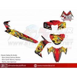 Stiker Yamaha VEGA RR...