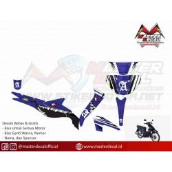 Stiker Motor Suzuki SMASH...