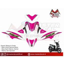Stiker Motor Honda Beat POP...