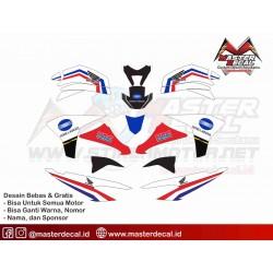 Stiker Motor Honda CS1...