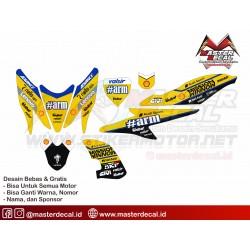 Stiker Yamaha Aerox Andrea...