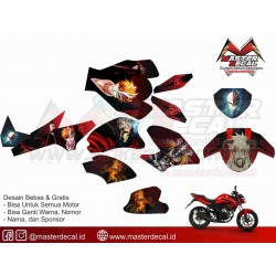 Stiker Motor ALL NEW CB 150...
