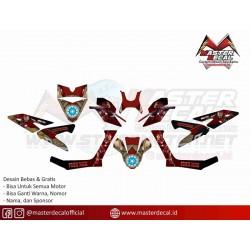 STICKER YAHAMA X-RIDE 125...