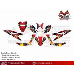 STICKER YAHAMA X-RIDE 125...