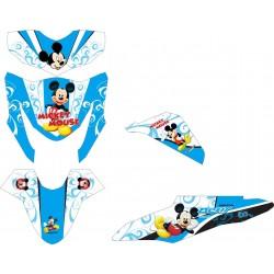Stiker Motor BEAT FI Mickey...