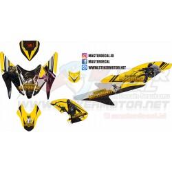 Stiker Yamaha Aerox 155 pubg