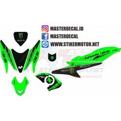 Stiker Yamaha Aerox Green...