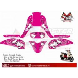 STICKER MOTOR SCOOPY FI...