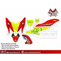 Stiker Motor Yamaha Aero...