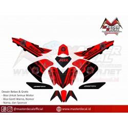 Stiker Motor Yamaha Aerox...