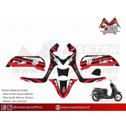 Stiker Motor Scoopy Grafis...