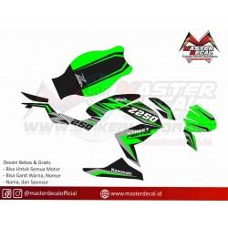 Stiker Motor z250 Simple...