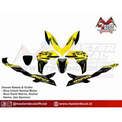 Stiker Motor Aerox 155...