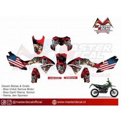 STIKER MOTOR KLX BF JOKER