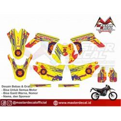 STIKER MOTOR CRF 150 L BARCA