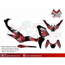   STIKER MOTOR XMAX GRAFIS