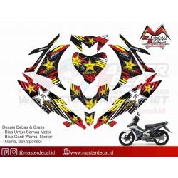 STIKER MOTOR YAMAHA NEW...