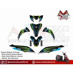STIKER MOTOR HONDA SPACY...