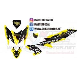 Stiker Yamaha AEROX Fox...