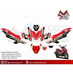 Yamaha Aerox 155 Ferary