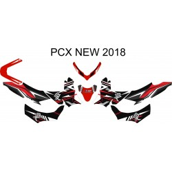 All New PCX 150 Kanji Red