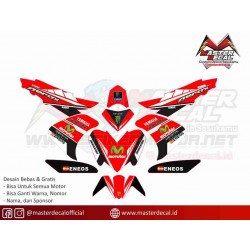 Yamaha Aerox 125 Movistar RED