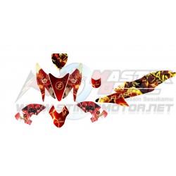 Stiker Yamaha Aerox 155 Flash