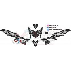 Stiker Yamaha Aerox Black...
